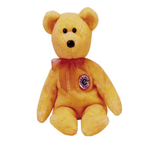 Sunny the E-beanie (bar code) bear,  Beanie Baby - Retired