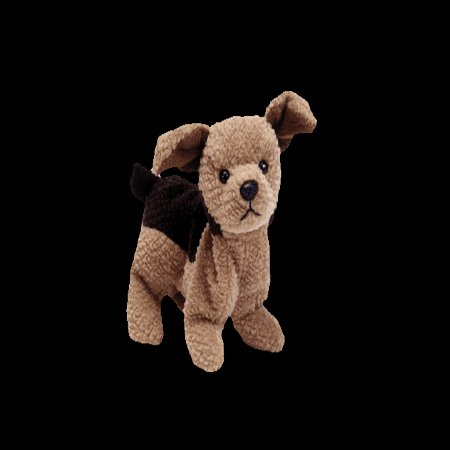 Tuffy the terrier,  Beanie Baby - Retired