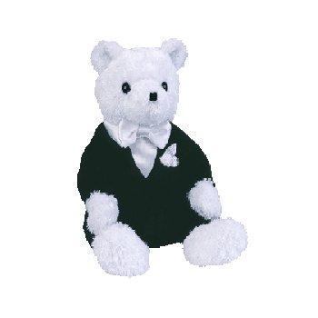 Groom the bear,  Beanie Baby - Retired