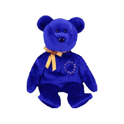 Unity the bear (Europe Exclusive),  Beanie Baby - Retired