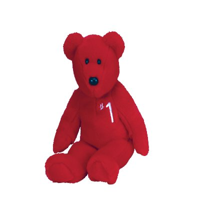 #1 the bear,  Beanie Buddy - Retired