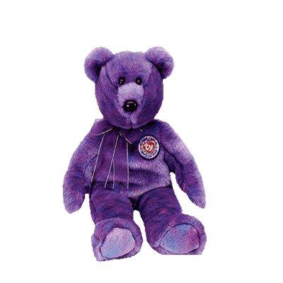Clubby IV the bear,  Beanie Buddy - Retired