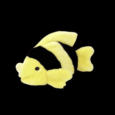 Bubbles the fish,  Beanie Buddy - Retired