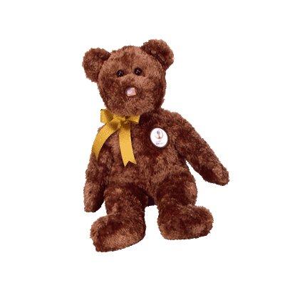 Champion the soccer bear,  Beanie Buddy - Retired