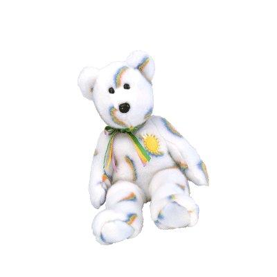 Cheery the bear,  Beanie Buddy - Retired