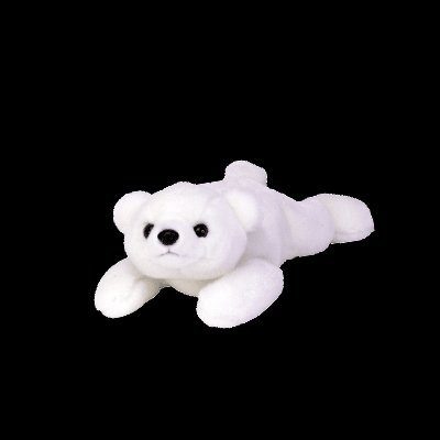 Chilly the polar bear,  Beanie Buddy - Retired