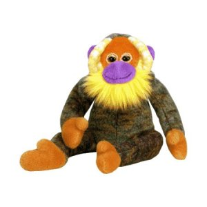 Bananas the orangutan,  Beanie Baby - Retired