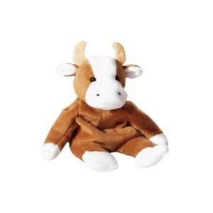 Bessie the cow,  Beanie Baby - Retired