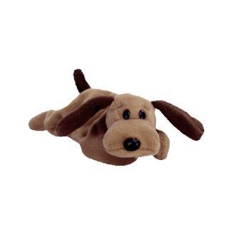 Bones the brown dog,  Beanie Baby - Retired