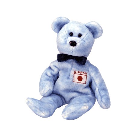 Nipponia the bear (Japan exclusive),  Beanie Baby - Retired