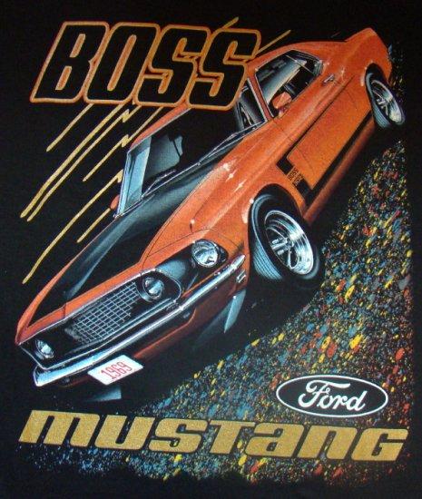 T-paita Boss Mustang Koko L