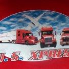 Punainen rekka T-paita
