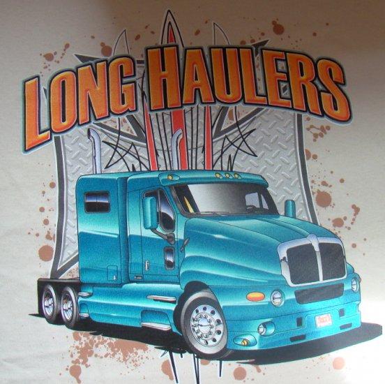 """Rekka T-paita """"Long haulers"""" KOKO XL"""