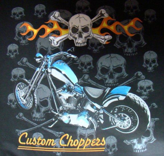 "Prätkä T-paita ""Custom Choppers"" Koko XL"
