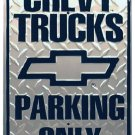 Chevy Trucks metallikyltti