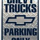 Chevy Trucks metallikyltti