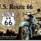 Prätkä Route 66 metallikyltti
