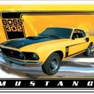Boss Mustang metallikyltti