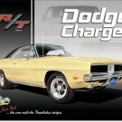 Dodge Charger metallikilpi
