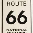 Historiallinen route 66 metallikyltti