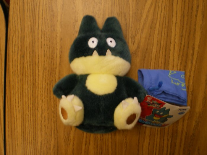 Large Munchlax Tomy Plush w/Cloth Bag