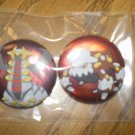 Giratina and Heatran Can Badge Set