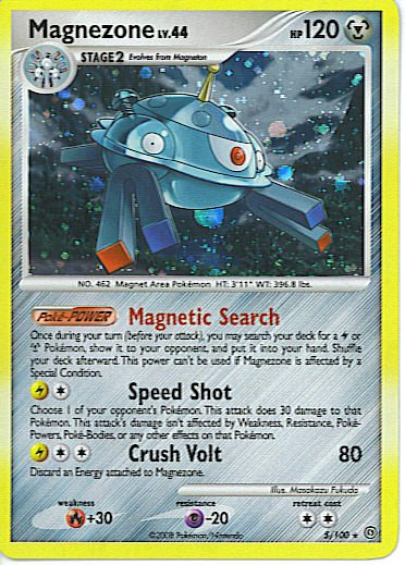 Reverse Holo Magnezone Stormfront 5/100