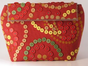 My Handmade Fabric Handbag Clutch