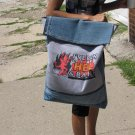 To Hell and Back Handmade Messenger Tote Bag