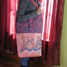 Graffiti Recycled Canvas and Denim Handmade Handbag