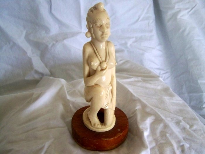 "African art,""tribal Ivory carving""."