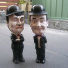 Abbott & Costello Dolls, Figurines (H) 400mm