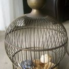 Plantation Brass Antique bird cage,