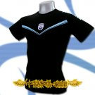 GIRONDINS DE BORDEAUX BLACK FOOTBALL T-SHIRT SOCCER Size M / J44