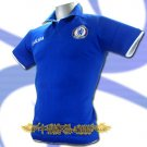 CHELSEA BLUE FOOTBALL COOL POLO T-SHIRT SOCCER Size M / K47