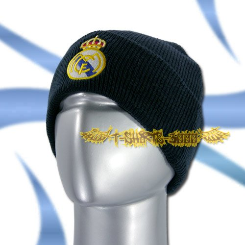 REAL MADRID DARK BLUE SOCCER BEANIE HAT SKULL CAP FOOTBALL / C16