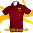BARCELONA RED FOOTBALL POLO TEE T-SHIRT SOCCER Size M / D90