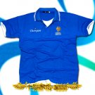FRANCE BLUE SOCCER POLO T-SHIRT FOOTBALL Size L / G50