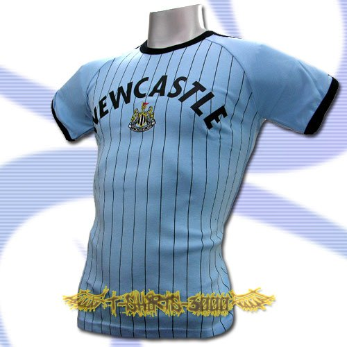NEWCASTLE BLUE FOOTBALL COOL TEE T-SHIRT SOCCER Size M / L51
