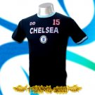 CHELSEA DARK BLUE SOCCER TEE T-SHIRT FOOTBALL Size M / A24