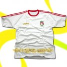 LIVERPOOL WHITE FOOTBALL T-SHIRT SOCCER Size XL / K64