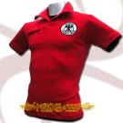 GERMANY RED GERMAN FOOTBALL POLO T-SHIRT SOCCER Size M / M68