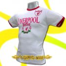 LIVERPOOL WHITE FOOTBALL COOL TEE T-SHIRT SOCCER Size M / J74