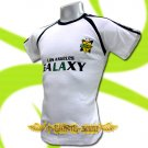 LA GALAXY WHITE FOOTBALL ATHLETIC T-SHIRT SOCCER Size M / K15