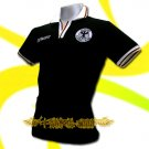 GERMANY BLACK GERMAN FOOTBALL POLO T-SHIRT SOCCER Size M / M61