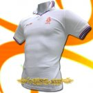 HOLLAND NETHERLANDS WHITE POLO T-SHIRT SOCCER Size M / M56