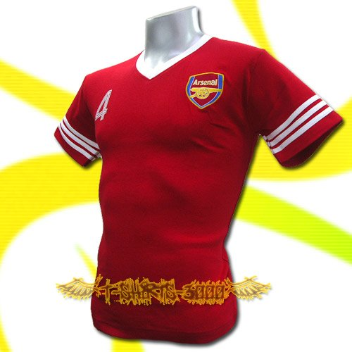 ARSENAL RED SOCCER TEE T-SHIRT FOOTBALL Size M / J87