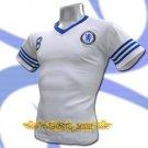 CHELSEA WHITE SOCCER TEE V NECK T SHIRT FOOTBALL Size M / K00