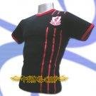 LIVERPOOL DARK BLUE #8 FOOTBALL T-SHIRT SOCCER Size M / K89
