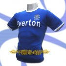 EVERTON BLUE SOCCER TEE T-SHIRT FOOTBALL Size M / L46